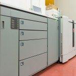 Uno dei nostri dispositivi di stampa digitale